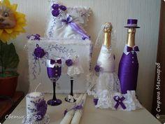 Поделка изделие Свадьба Моделирование конструирование Фиолетовая свадьба  фото 1