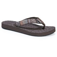 9833d6e74 Women s Muk Luks Emma Flip Flop Sandals - Multi-Colored 9 Flip Flop Shoes