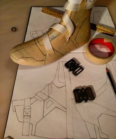Pattern making for new boot with a webbing lace up system. Excited for this one  .  .  .  #lastcomesfirst #footwearfootweardesign #shoedesign #handlasted #handmade #bespoke #igsneakers #design #leatherwork #leather #conceptkicks #prototype #shoegame #dailysole #solesociety #igsneakercommunity #instakicks #ancientfuture #runik #runikwear