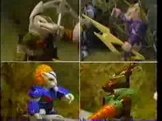 Battle Beasts Commercial - I like to think of these guys as within the Transformers universe. They were even featured on a Japanese episode of Headmasters