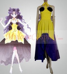 Cheap Sailor Moon Luna Human Form Cosplay Costumes For Sale