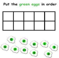 Image detail for -Dr. Seuss Green Eggs and Ham Lesson - Shelley Griffiths ...