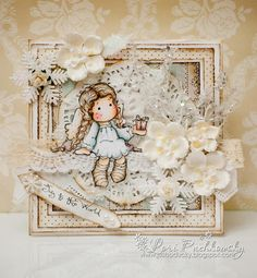 A Little Gift Tilda, Sweet Christmas Dreams, Magnolia stamps