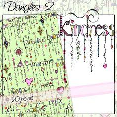 KNDNESS dangles