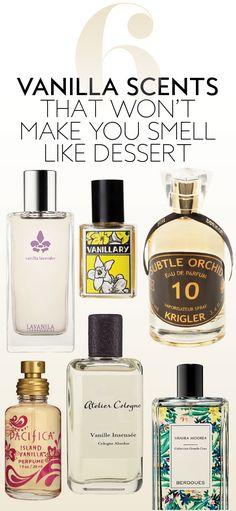 These vanilla-infused scents are equal parts classy and sexy.
