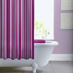 Love the radiant orchid bathroom #rugsnowdesign
