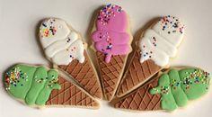 Ice Cream Cone Cookies