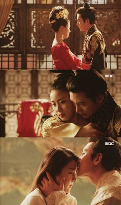Empress Ki Wedding Night... Both are good actors,  Ha Ji Won and Ji Chang Wook.  : )