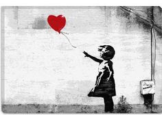 Girl with a Balloon by Banksy  Giclee Poster
