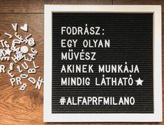 """Alfaparf Milano Hungary on Instagram: """"Ki ért egyet? 😍👌🏼 #alfaparfmilano #alfaparfpeople"""" Hungary, Letter Board, Lettering, Instagram, Drawing Letters, Brush Lettering"""