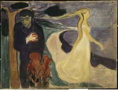 edvard munch la separation
