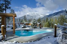 You're at Whistler. And you just did West Cirque. Head a few blocks north of the village to the Scandinave Spa Whistler, and prepare to find peace. Vacation Trips, Dream Vacations, Vacation Ideas, Canadian Spa, Scandinavian Baths, Winter Date Ideas, Whistler, Vancouver Island, British Columbia