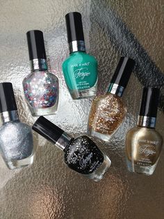 Miranda's Makeup & More: New Wet n Wild Nail Polish by Fergie Haul & Swatches