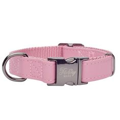 Rosa in Gunmetal Designer Dog Collars, Pet Tags, Dog Harness, Dusty Pink, Clothing Items, Fur Babies, Two By Two, Leather, Blue