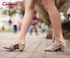 Caminhe diretamente para uma semana tão bela e florida quanto esta sandália lançamento Campesí.
