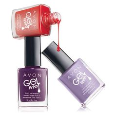 Gel manis are ALL the rage right now! Skip the chichi salon and get a shiny and fresh gel-like mani without the UV light. Avon's Gel Finish Nail Enamel comes in 12 beautiful shades and has 7 benefits in 1 Avon Nail Polish, Avon Nails, Gel Polish, Avon Catalog, Catalog Online, Gel Nails At Home, Nagellack Trends, Manicure Y Pedicure, Gel Manicures