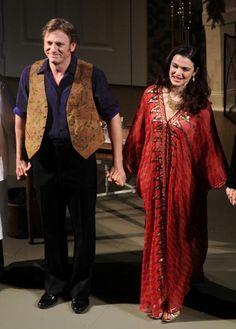 Daniel Craig y Rachel Weisz, un matrimonio en crisis... pero sólo sobre las tablas de Broadway #DanielCraig #RachelWeisz