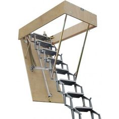62 Best Retractable Stairs Images Attic Ladder Attic