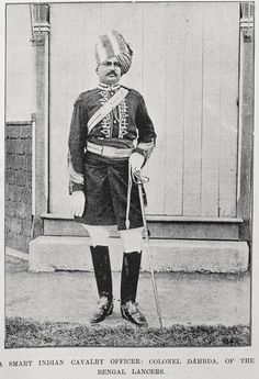 Colonel Dareda, Bengal lancers