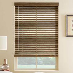 Few months back I have incorporated some wood blinds in my living area to create an organic and natu Wooden Window Blinds, Faux Wood Blinds, Wood Windows, Blinds For Windows, Cleaning Wood Blinds, Bali Blinds, Bathroom Window Treatments, Classic Window, Blinds Design
