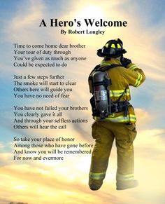 Sentimental Sympathy for the Loss of a Firefighter Poem card. Personalize any greeting card for no additional cost! Cards are shipped the Next Business Day. Firefighter Crafts, Firefighter Quotes, Funny Thoughts, Positive Thoughts, Bob Marley, Poems About Life, Inspirational Poems, Memorial Poems, Mental Health Quotes