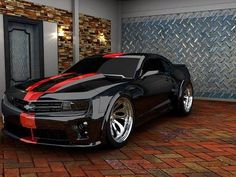 Cool Camaro ZL1 Custom. Modern Muscle!: