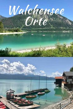 Walchensee Orte - How to plan a vacation - Surfing The Nations, Holiday Places, Travel Alone, Weekend Trips, Germany Travel, Travel Usa, Places To See, Travel Destinations, Beautiful Places