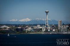 Scott Wood Photography  Seattle's Space Needle