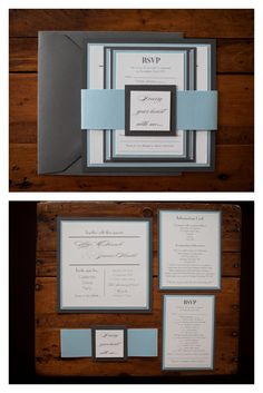 """""""I Carry Your Heart with me"""" is inscribed on the band of this elegant layered invitation by Uptown Designs (Cambridge, ON). Check them out at www.theweddingring.ca. Photo: AngelaSmithPhotography I Carry Your Heart, Industrial Wedding, Cambridge, Rsvp, Our Wedding, Place Cards, Stationery, Diy Crafts, Invitations"""