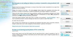 Web de desmentidos da Comisión Europea.-