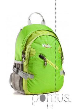 Mochila Montecampo Drave verde 37x25x13cm | JB