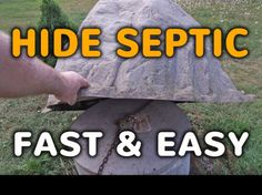 heres a selection of videos detailing how to hide that ugly septic tank riser in your yard using easy to use fake rock septic covers