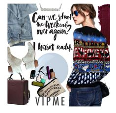 """""""VipMe/5"""" by ansev ❤ liked on Polyvore featuring Lipstick Queen, Wrap, Essie, Sam Edelman, women's clothing, women, female, woman, misses and juniors"""