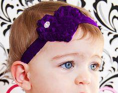 Heart  Headband Shabby Baby Headband baby bow newborn headband toddler headband