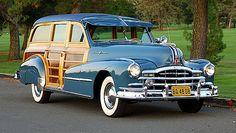 1948 Pontiac Silver Streak woodie wagon
