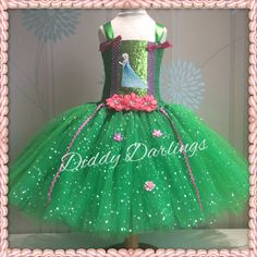 Frozen Fever Tutu Dress.   Frozen Fever Elsa Tutu Dress. Beautiful & lovingly handmade.  All characters and colours available Price varies on size, starting from £25.  Please message us for more info.  Find us on Facebook www.facebook.com/DiddyDarlings1 or our website www.diddydarlings.co.uk