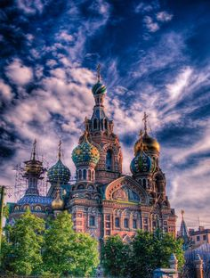 Resurrection Temple - St. Petersburg, Russia.  Well, it used to be on my bucket list.  Now it seems really far away!