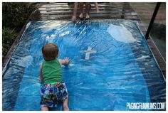 Love this even more than the tape version- could easily do this at night and bring it to the kids the next day!