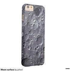 #moon #moonsurface #space #iphonecase #grafikprod #zazzle Moon surface barely there iPhone 6 plus case