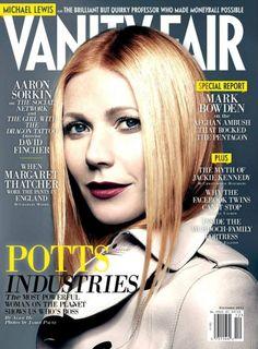 Mock Vanity Fair Cover: Pepper Potts