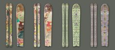 wouldn't mind owning one of these for the next time we go skiing... / designer: ice cream for free / armada skis