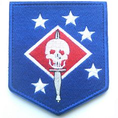 USMC MARINE RAIDERS THE UNITED STATES NARINE CORPS COMMANDOS U.S. ARMY PATCH -05