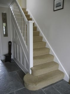 Luxury Carpet Runners For Stairs Key: 3697068247 Stairs, Hallway Paint Colors, Painted Stairs, Hallway Flooring, Flooring, Living Room White, Paint Colors For Living Room, Hallway Colours, Hallway Decorating