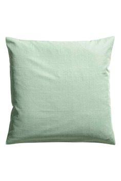 Eläväpintainen tyynynpäällinen - Himmeänvihreä - Home All | H&M FI 1