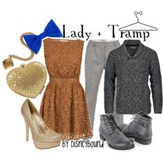 Disneybound: Lady and the Tramp