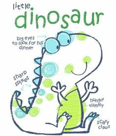 """All about surface pattern ,textiles and graphics: I Love working on the Dinosaur theme I always stuggle to make them look """"not toooo scary ! Animal Doodles, Make Do And Mend, Baby Drawing, Dinosaur Art, Monster Party, Kids Prints, Cute Illustration, Dinosaur Illustration, Surface Pattern"""