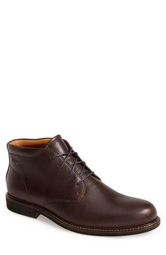 Free shipping and returns on ECCO 'Findlay' Chukka Boot (Men) at Nordstrom.com. Supple leather shapes a handsome chukka boot cast in a classic silhouette.