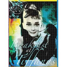 Audrey Hepburn Breakfast At Tiffany's Jigsaw Puzzle - 1000 Pieces