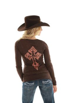 Cowgirl Tuff Blessed! Backside, new for Spring 2013!  www.thefunkycowgirl.com