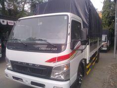 Xe tải Fuso Canter 8.2 tấn thùng bạt